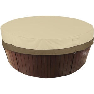 The Best Hot Tub Covers Options: Classic Accessories Veranda Water-Resistant Cover