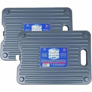 The Best Ice Pack for Cooler Option: Cooler Shock 18-Degree F. Hard Packs