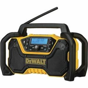 The Best Jobsite Radio Option: DEWALT DCR028B 12V/20V MAX Bluetooth Jobsite Radio