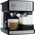 The Best Latte Machine Option: Mr. Coffee Espresso and Cappuccino Maker