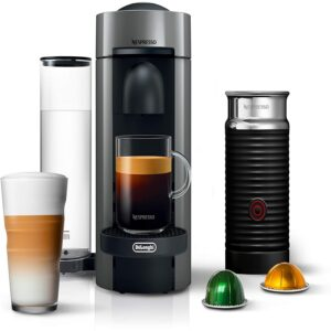 The Best Latte Machine Option: Nespresso VertuoPlus Coffee and Espresso Maker Bundle