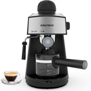 The Best Latte Machine Option: SOWTECH Espresso Machine 3.5 Bar 4 Cup