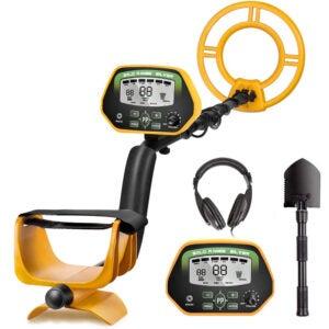 最好的金属探测器选项: RM RICOMAX Professional Metal Detector GC-1037