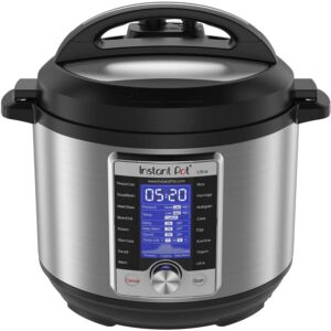The Best Multi-Cooker Options: Instant Pot Ultra 10-in-1 Electric Pressure Cooker