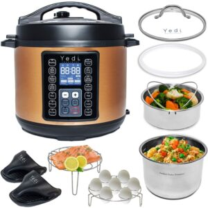 The Best Multi-Cooker Options: Yedi 9-in-1 Instant Programmable Pressure Cooker