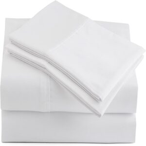 The Best Percale Sheets Options: Peru Pima 415 Thread Count Percale Sheet Set