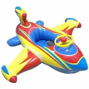 The Best Pool Toys Option: Topwon Inflatable Airplane Toddler Swimming Float