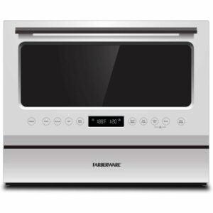 The Best Portable Dishwasher Option: Farberware FCD06ASWWHC Countertop Dishwasher