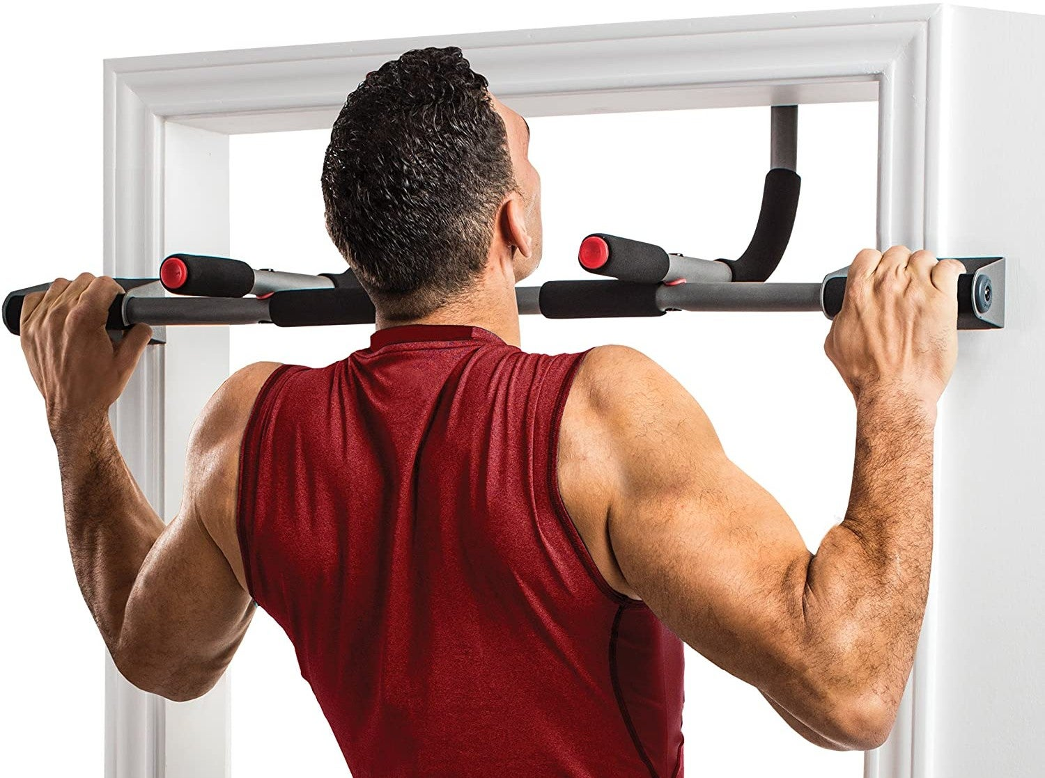 Freestanding Adjustable Pull Up Bar Home Gym Chin Ups Pull Ups Weights