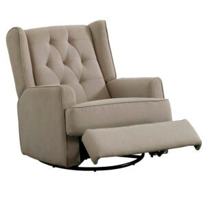 The Best Recliners Options: Cupps Manual Rocker Recliner