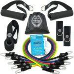 The Best Resistance Bands Options: TRIBE PREMIUM Resistance Bands Set for Exercise