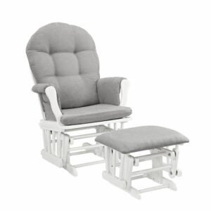 The Best Rocking Chair Option: Angel Line Windsor Glider and Ottoman