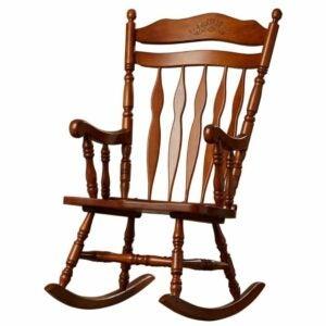 The Best Rocking Chair Option: Loon Peak Greenwood Rocking Chair