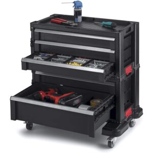 The Best Rolling Tool Box Option: Keter Rolling Tool Chest with Storage Drawers