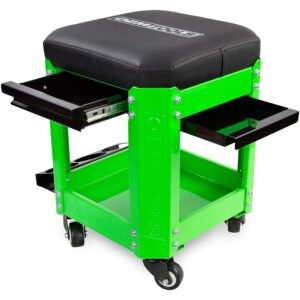 The Best Rolling Tool Box Option: OEMTOOLS Rolling Mechanics Creeper Seat with Storage