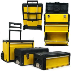 The Best Rolling Tool Box Option: Stalwart Oversized Portable Tool Chest