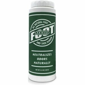 The Best Shoe Deodorizer Option: Foot Sense Natural Shoe Deodorizer Powder