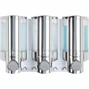 The Best Soap Dispenser Option: Better Living Products AVIVA Three-Chamber Dispenser