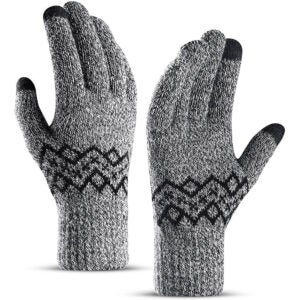 The Best Touchscreen Gloves Option: TRENDOUX Winter Gloves
