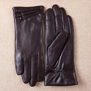 The Best Touchscreen Gloves Option: Warmen Women's Touchscreen Leather Gloves