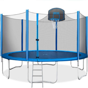 The Best Trampoline Options: Merax 15 FT Trampoline with Safety Enclosure Net