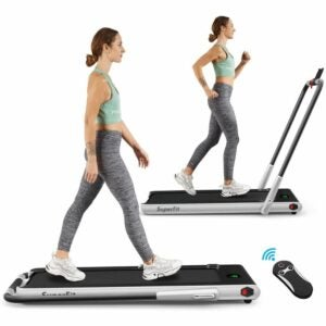 The Best Treadmills Option: Goplus 2 in 1 Folding Treadmill