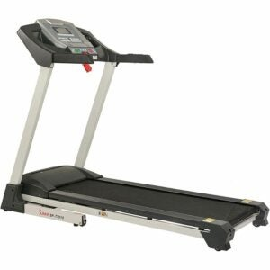 The Best Treadmills Option: Sunny Health & Fitness SF-T7515 Smart Treadmill