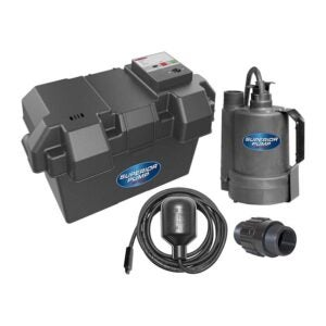 The Best Battery Backup Sump Pump Option: Superior Pump 92900 12V Battery Back Up Sump Pump