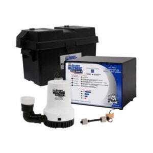 The Best Battery Backup Sump Pump Option: THE BASEMENT WATCHDOG Big Dog CONNECT 3500 GPH Sump Pump