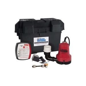 The Best Battery Backup Sump Pump Option: THE BASEMENT WATCHDOG Model BWE Backup Sump Pump