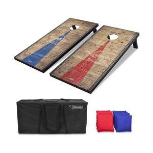 The Best Cornhole Board Option: GoSports Classic Cornhole Set