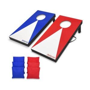 The Best Cornhole Board Option: GoSports Portable Size Cornhole Game Set