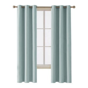 The Best Curtains Option: Deconovo Room Darkening Thermal Insulated Curtain