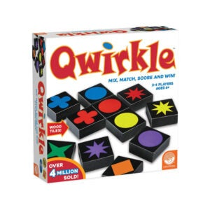 The Best Family Board Game Option: MindWare Qwirkle Board Game