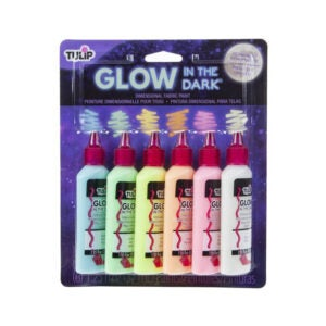 The Best Glow in the Dark Paint Option: Tulip Dimensional Glow Fabric Paint