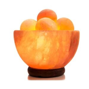 The Best Himalayan Salt Lamp Option: UMAID Himalayan Salt Lamp with Heated Massage Balls