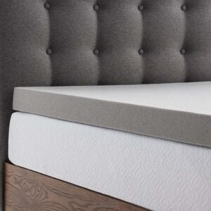 The Best Mattress Topper for Side Sleepers Option: LUCID 3 Inch Bamboo Charcoal Mattress Topper