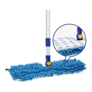 "The Best Microfiber Mop Option: JINCLEAN 18"" Microfiber Floor Mop"