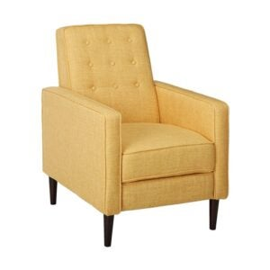 The Best Reading Chair Option: GDFStudio Mason Mid-Century Modern Tuft Back Recliner