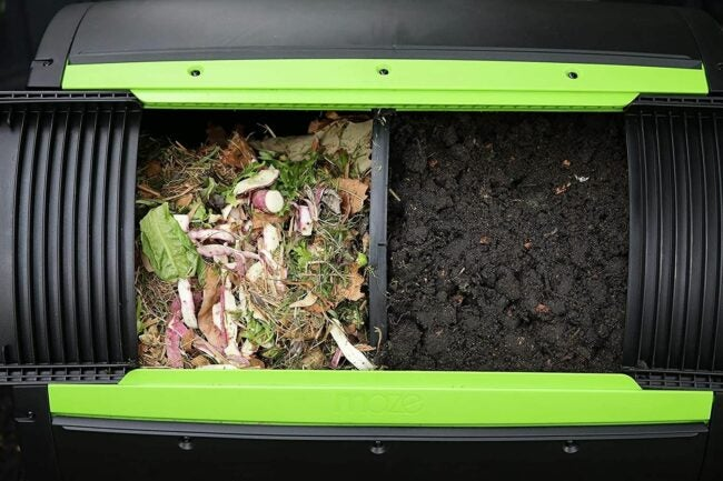 The Best Compost Tumbler Option