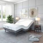 Best Adjustable Bed Options: Classic Brands Comfort Upholstered Adjustable Bed Base with Massage