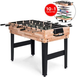 Best Air Hockey Tables Options: Best Choice Products 10-in-1 Game Table