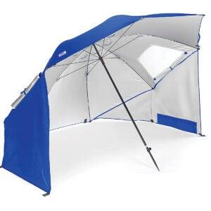 Best Beach Umbrella Options: Sport-Brella Vented SPF 50+ Sun and Rain Canopy Umbrella