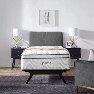 """Best Cheap Mattress Options: Modway Jenna 14"""" Quilted Pillow"""