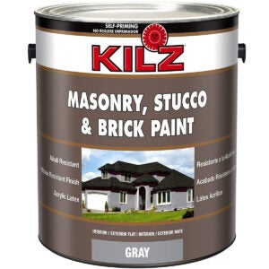 Best Concrete Paint Options: KILZ Interior Exterior Self-Priming Masonry