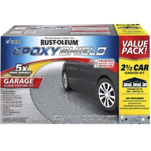 Best Concrete Paint Options: Rust-Oleum 261845 EpoxyShield Garage Floor Coating