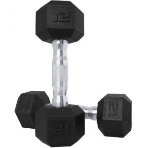 Best Dumbbells Options: CAP Barbell Coated Hex Dumbbell Weights
