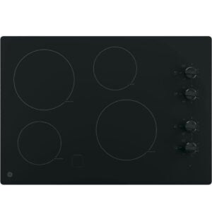 Best Electric Cooktop Options: GE JP3030DJBB 30 Inch Smoothtop Electric Cooktop