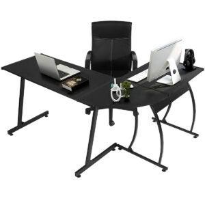 Best Gaming Desk Options: GreenForest L-Shaped Corner Desk