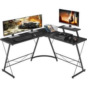 Best Gaming Desk Options: Mr IRONSTONE L-Shaped Desk